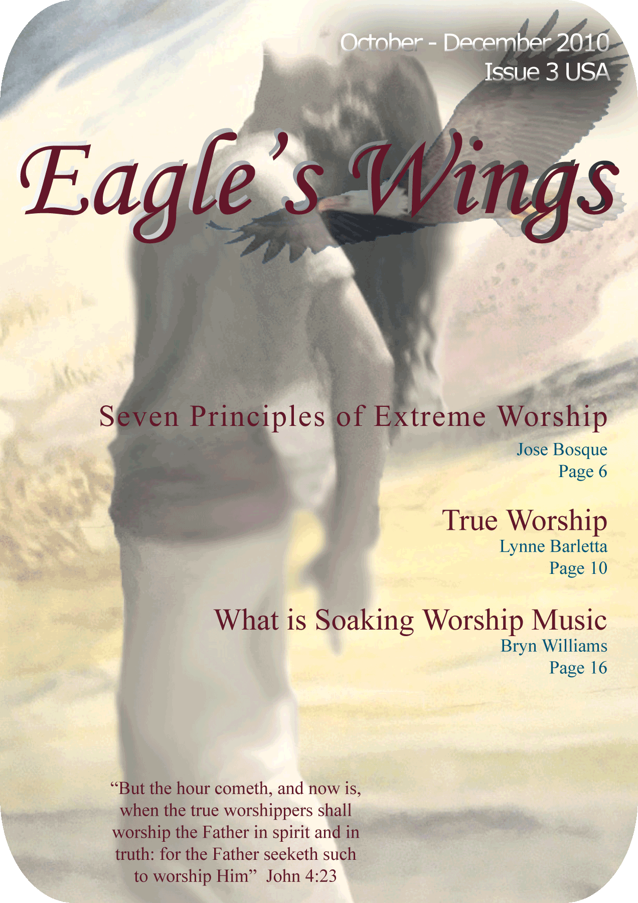 Eagle's Wings Issue 3 - Magazine Cover