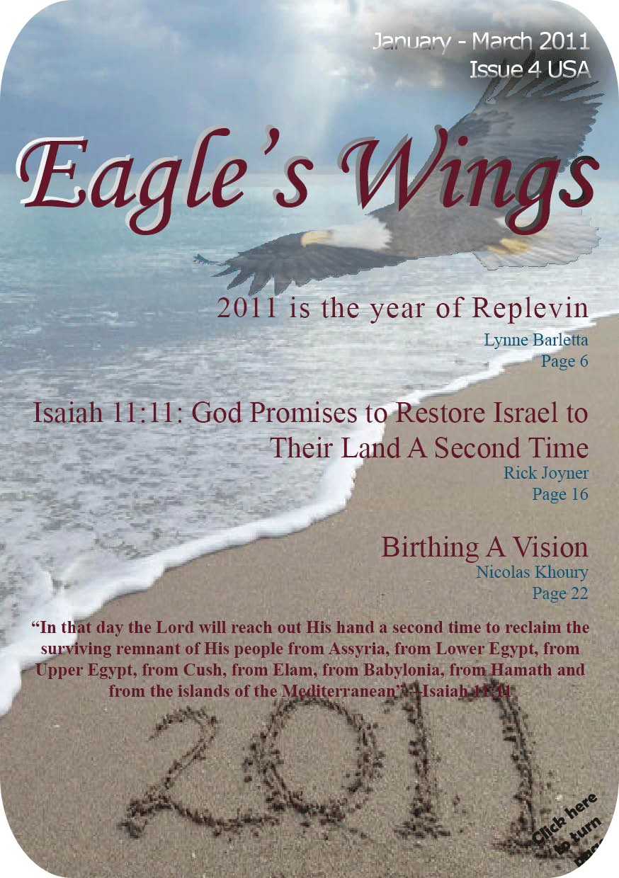 Eagle's Wings Issue 4 - Magazine Cover