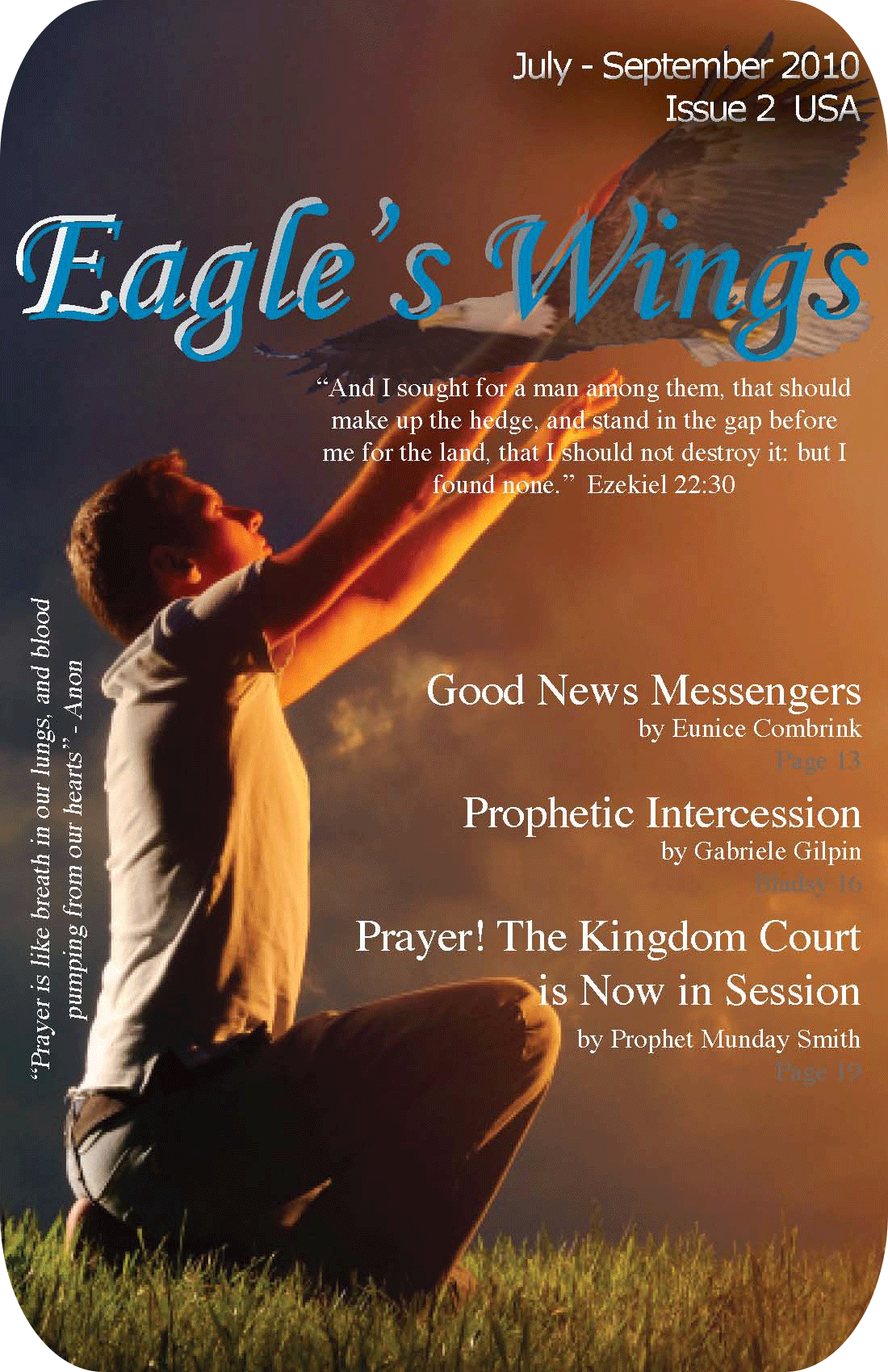Eagle's Wings Issue 2 - Magazine Cover