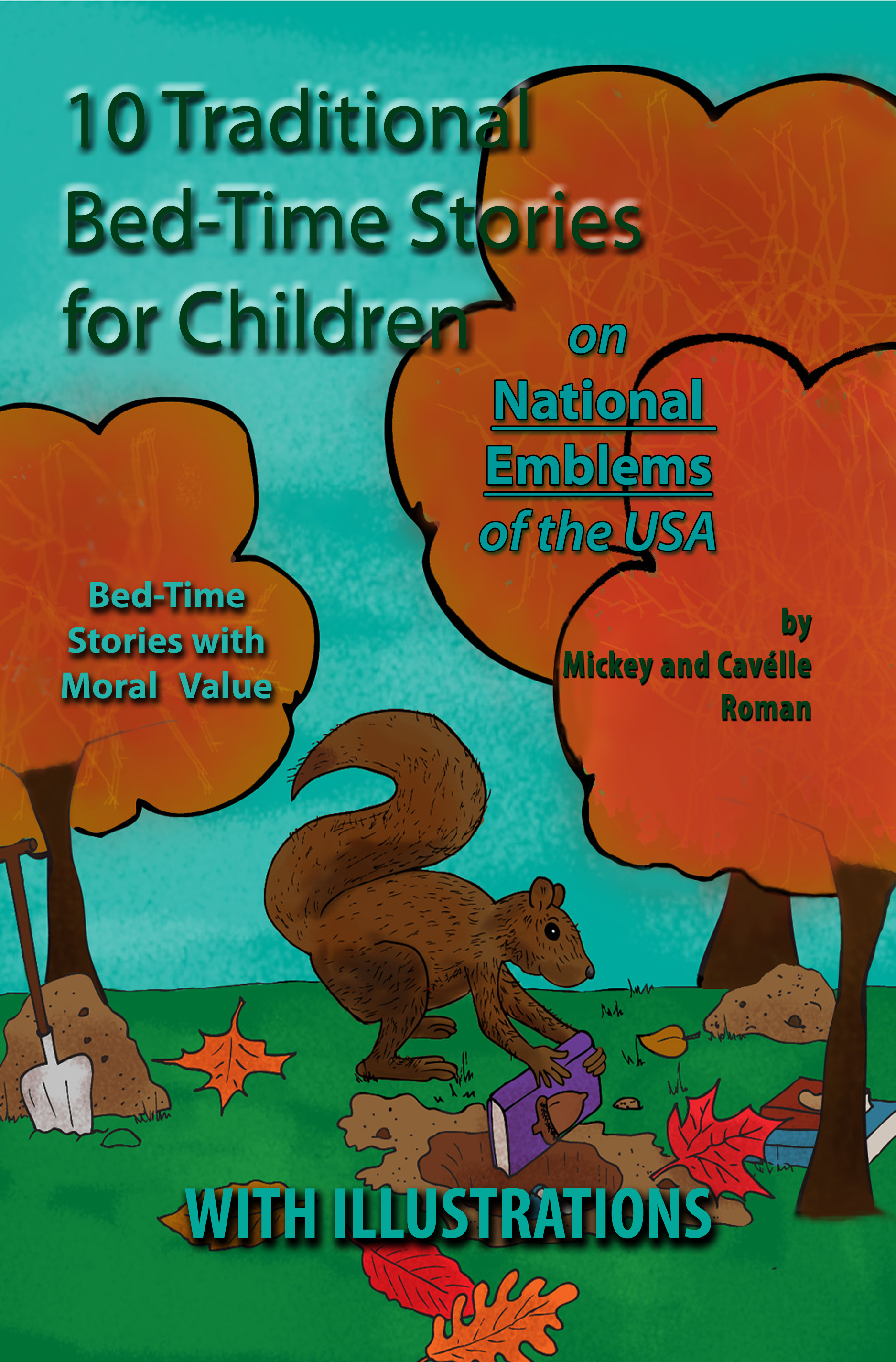 Printed Version - 10 Traditional Children Story Cover Page with Titles Front Cover